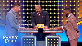 Lady boss said dress sexier so I'm wearing... | Family Feud