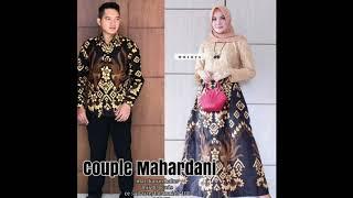 Model Baju Batik Gamis Kombinasi Brokat म फ त ऑनल इन