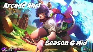 League of Legends: Arcade Ahri Mid Gameplay