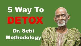 5 Ways To Detox/Cleanse (How To Make Herbal Teas) - Dr. Sebi Methodology