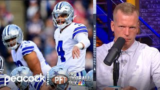 Is Dallas Cowboys being too optimistic about Dak Prescott's return? | Pro Football Talk | NBC Sports