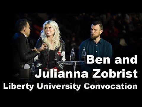 Ben and Julianna Zobrist - Liberty University Convocation