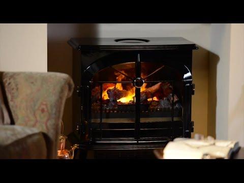 Dimplex Burgate Black Gloss Electric Opti-myst® Stove