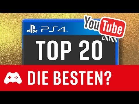 TOP 20 ► Die beliebtesten PS4 Spiele 2017 - auch die besten?
