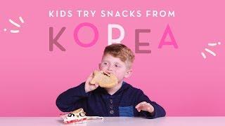 Korean Snacks | Kids Try | HiHo Kids