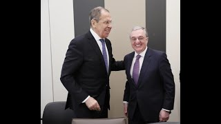 Встреча глав МИД РА и РФ