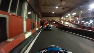 preview picture of video 'Vicenza Kart Indoor - Nuovo Circuito Indoor 2015'