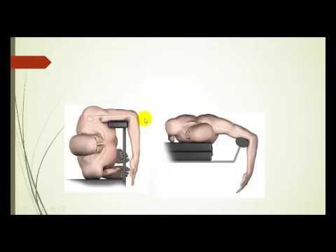 Ejercicio de la cadera coxartrosis en casa