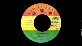 "Jimmy Dean - Blackman Time + Version (NEW FLOWER) 7"""