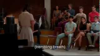 Rachel and the Death of Finn- Glee   (The Quarterback)