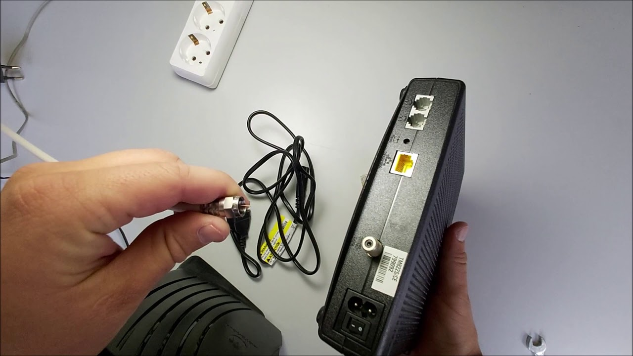 TM822 modem üzembe helyezési útmutató videó
