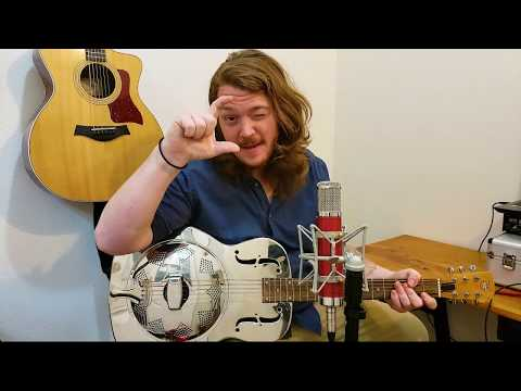 This is the very beginning lesson I teach for finger style Blues