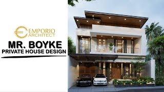 Video Desain Rumah Modern 2 Lantai Bapak Boyke di  Jakarta Timur