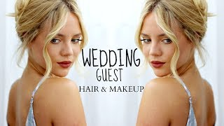 HAIR & MAKEUP FOR GOING TO A WEDDING || Elanna Pecherle