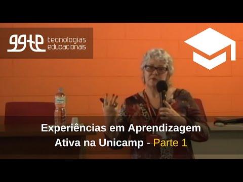 1o. Experiências práticas em Aprendizagem Ativa na Unicamp