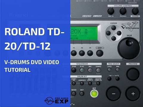 » Watch Full Roland TD-20 TD-12 DVD Video Training Tutorial Help