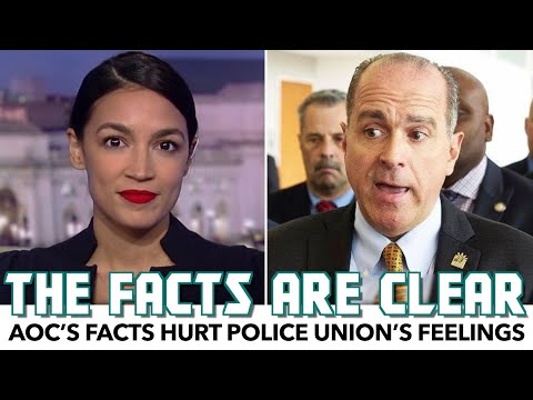 AOC's Facts Hurt Police Union's Feelings