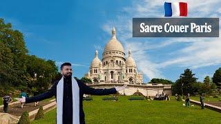 Indian Vlogger In Paris, France | Sacré-Coeur Basilica In Montmartre, Paris