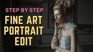 Step by Step Fine Art Retouching Tutorial