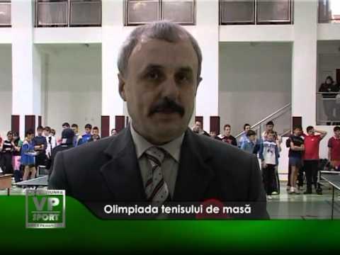 Olimpiada tenisului de masă