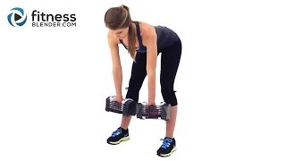 Kelli's Superset Total Body Strength Workout: Calorie Torching, Muscle Building, Fat Burning Workout by FitnessBlender