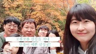 2019년 입시팀 가을소풍 동영상