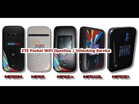 How To Get Unlock Code for ZTE MF65M Pocket Wifi Easy unlocking