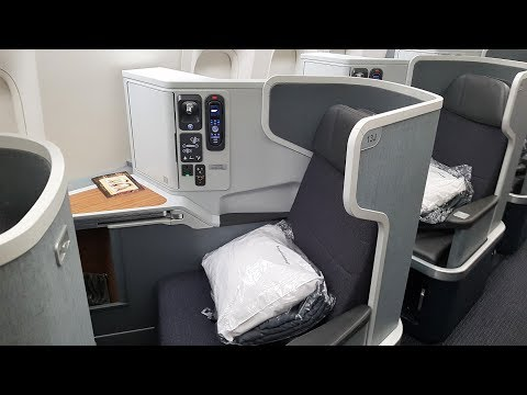 American Airlines Business Class 777 Flight Review