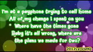 Maroon 5   Payphone Ft. Wiz Khalifa [Lyrics Video]