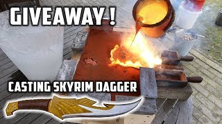Casting Mirror Polished Dagger from the game Skyrim - Video Youtube