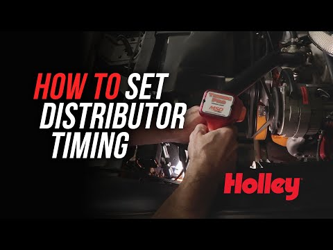 How To Set Timing Ignition Timing With A Distributor