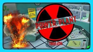 СИМУЛЯТОР РАБОТНИКА ЯДЕРНОЙ СТАНЦИИ! ✅ Nuclear Power Plant Simulator Прохождение