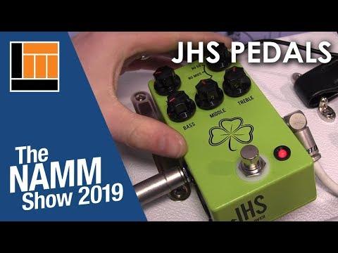 L&M @ NAMM 2019: JHS Pedals
