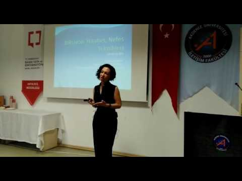 Fatma Turgay Diksiyon semineri