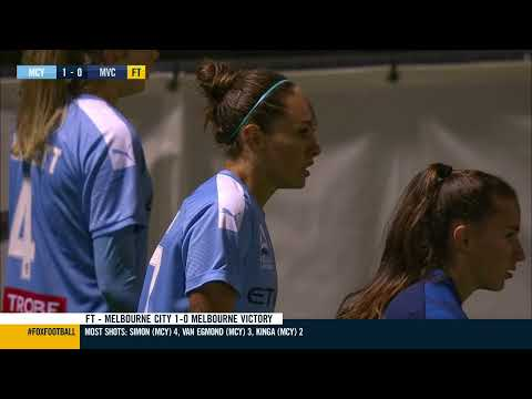 Westfield W-League 2019/20: Round 5 – Melbourne City FC Women v Melbourne Victory Women (Full Game)