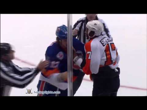 Wayne Simmonds vs Matt Martin