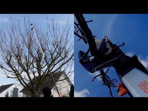 Super Teil! Fiskars Teleskop Schneidegiraffe UP86 - Test Fazit nach 2,5 Jahren! Baum zurückschneiden