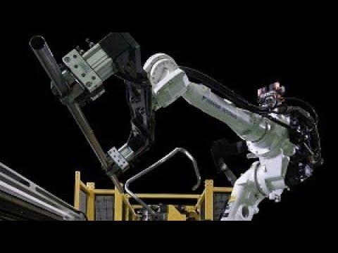 10軸全電控制左右共向彎管機