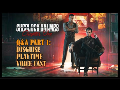 Réponses aux questions - Partie 1 de Sherlock Holmes Chapter One
