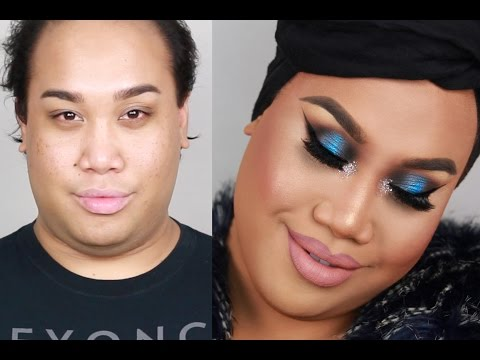 Blue Smokey Eye New Years Eve Makeup Tutorial | PatrickStarrr