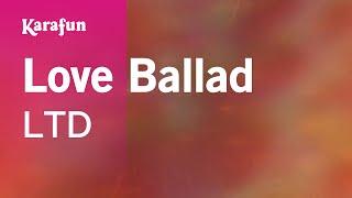 Karaoke Love Ballad   LTD *