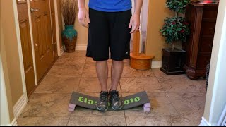 ElastoCrete Step Board Flexibility