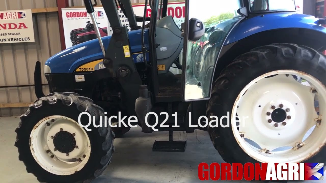 New Holland TD5010 4WD