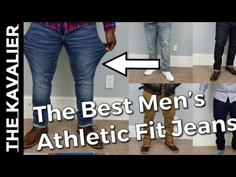The Best Jeans for Muscular Men | Athletic Denim for Fit Men