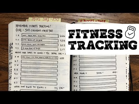 Bullet Journal Basics: Health & Fitness Tracking