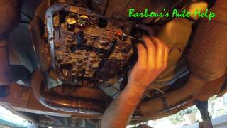 How to replace a transmission filter