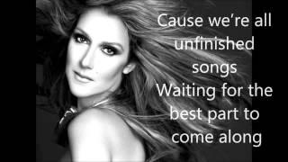 Mp3 Celine Dion Unfinished Songs Lyrics
