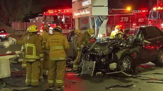 NBA Player Rasual Butler & Wife Leah LaBelle Fatal Range Rover Crash / Studio City
