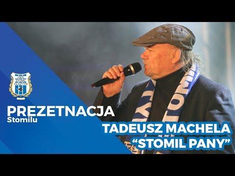 Tadeusz Machela zaśpiewał piosenkę
