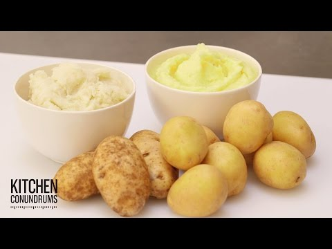 How to Make the Fluffiest Mashed Potatoes – Kitchen Conundrums with Thomas Joseph